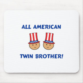 All American Twin Brother Mouse Pad