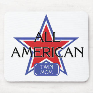 All American Twin Mom Mouse Pad