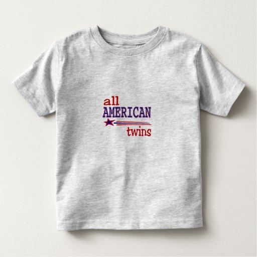 All American Twins T-shirts