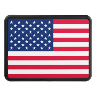 All American US Flag Patriotic Style Hitch Tow Hitch Cover
