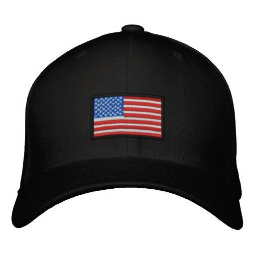 All American USA Embroidered Baseball Hat
