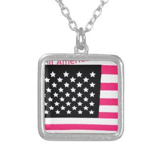 All American USA Flag for Girls Custom Jewelry