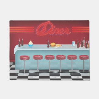 All american Vintage Diner Doormat