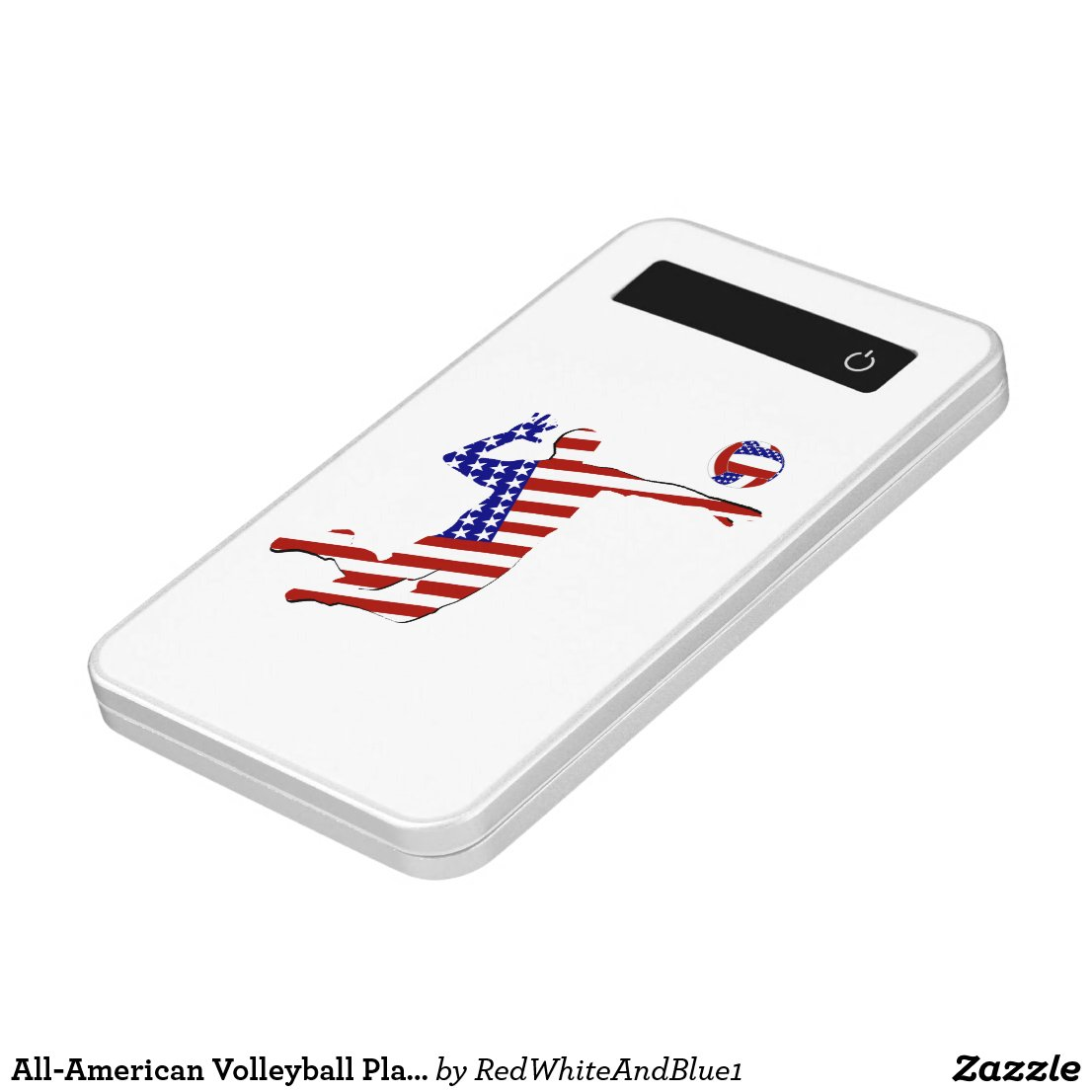 All-American Volleyball Player Power Bank