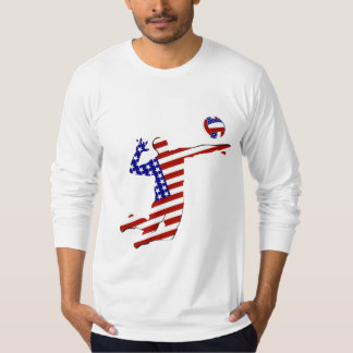 All-American Volleyball Player T-shirt