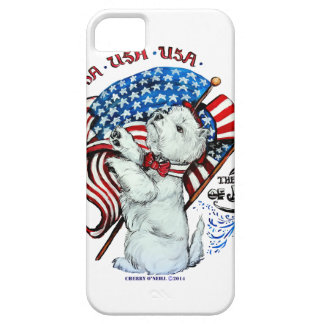 All American Westie iPhone Case