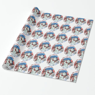 All American Westie Wrapping Paper