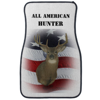 All American Whitetail Deer Set of Car Mats