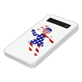 All-American Womens Tennis Player Power Bank