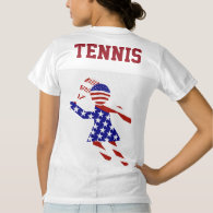All-American Womens Tennis Player Women's Football Jersey