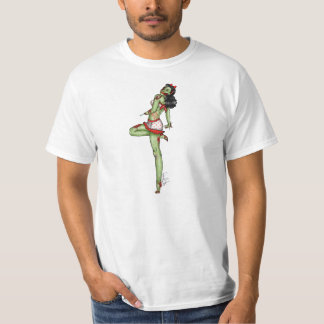 All American - Zombie Pin Up Tee