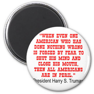 All Americans Are In Peril Magnet