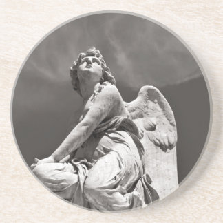 All angels sing - Sicily Sandstone Coaster