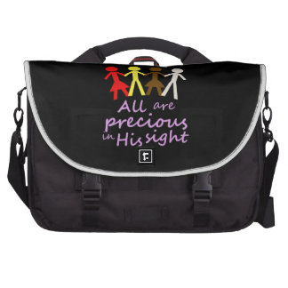 All are precious in His sight Commuter Bags