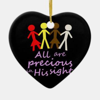 All are precious in His sight Ornament