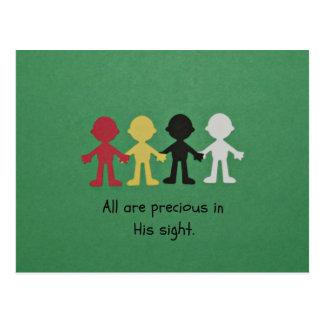 All Are Precious in His Sight. Post Card