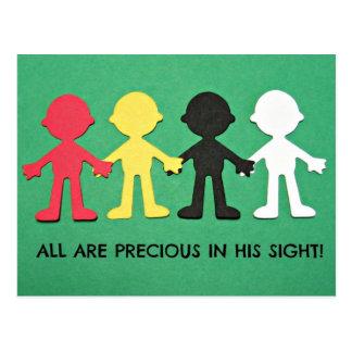 All Are Precious in His Sight. Postcard