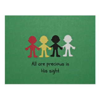 All Are Precious in His Sight. Post Card