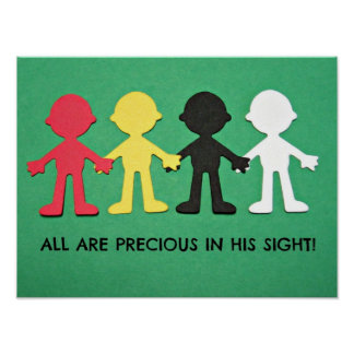 All Are Precious in His Sight. Poster