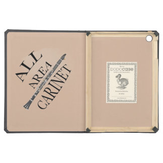 ALL AREA CLARINET PLAYER Iphone Ipad ANY COLOR Case For iPad Air