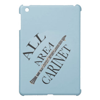ALL AREA CLARINET PLAYER Iphone Ipad ANY COLOR Case For The iPad Mini