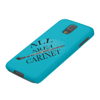 ALL AREA CLARINET PLAYER Iphone Ipad ANY COLOR Galaxy S5 Case