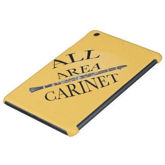 ALL AREA CLARINET PLAYER Iphone Ipad ANY COLOR iPad Mini Retina Cases