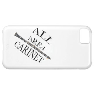 ALL AREA CLARINET PLAYER Iphone Ipad ANY COLOR iPhone 5C Cases