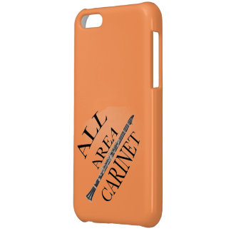 ALL AREA CLARINET PLAYER Iphone Ipad ANY COLOR iPhone 5C Cover