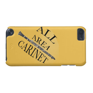 ALL AREA CLARINET PLAYER Iphone Ipad ANY COLOR iPod Touch (5th Generation) Case