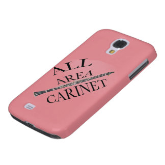 ALL AREA CLARINET PLAYER Iphone Ipad ANY COLOR Samsung Galaxy S4 Cover