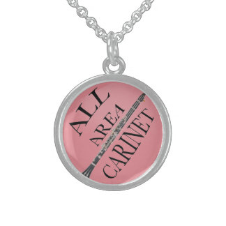 All AREA CLARINET Player Necklace ANY COLOR