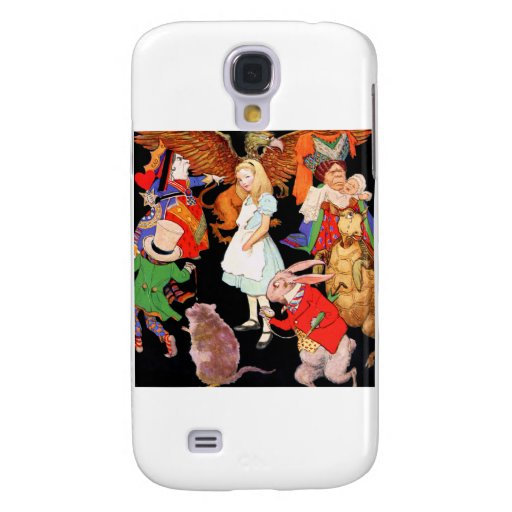 All Around Alice Galaxy S4 Covers