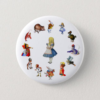 ALL AROUND ALICE IN WONDERLAND BUTTON