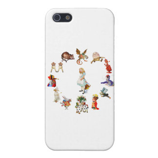 All Around Alice in Wonderland Cover For iPhone SE/5/5s