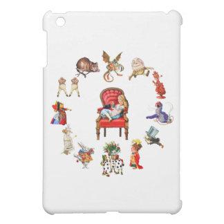 All Around Alice in Wonderland iPad Mini Cover