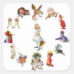 All Around Alice in Wonderland Sticker