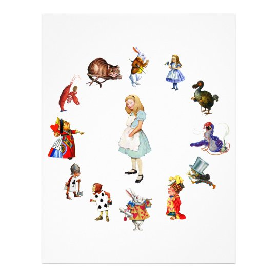 ALL AROUND ALICE LETTERHEAD