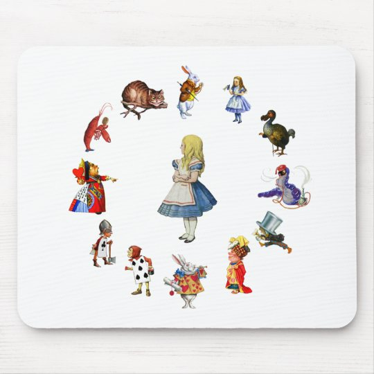 ALL AROUND ALICE MOUSE PAD