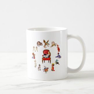 All Around Alice Through The Looking Glass Coffee Mug