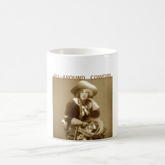 All-Around Cowgirl Coffee Mug