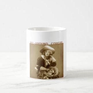 All-Around Cowgirl Classic White Coffee Mug