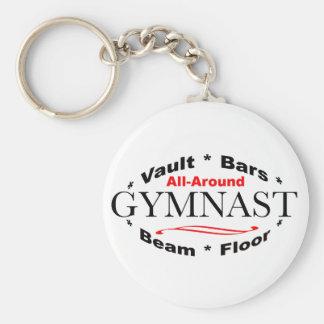 All-Around Gymnast Keychain