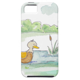 All Around the Barnyard - Ducks by Serena Bowman iPhone SE/5/5s Case