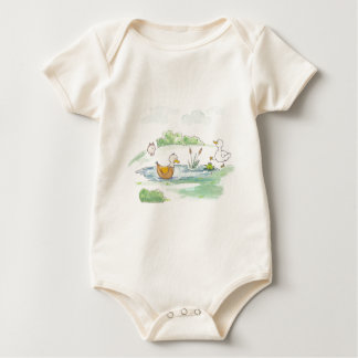 All Around the Barnyard - Ducks by Serena Bowman Romper