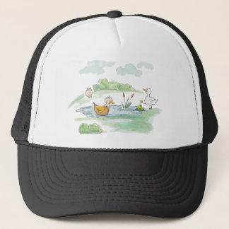 All Around the Barnyard - Ducks by Serena Bowman Trucker Hat