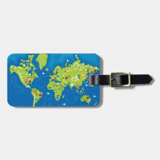 All Around the World Bag Tags