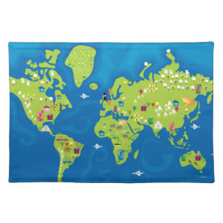 All Around the World Placemat
