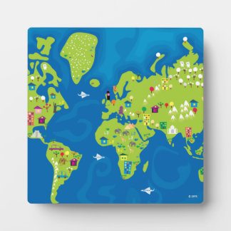 All Around the World Plaque