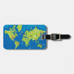 All Around the World Travel Bag Tag